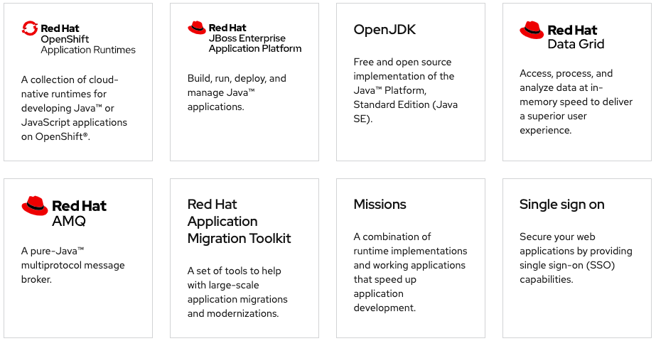 Red Hat Runtimes Overview